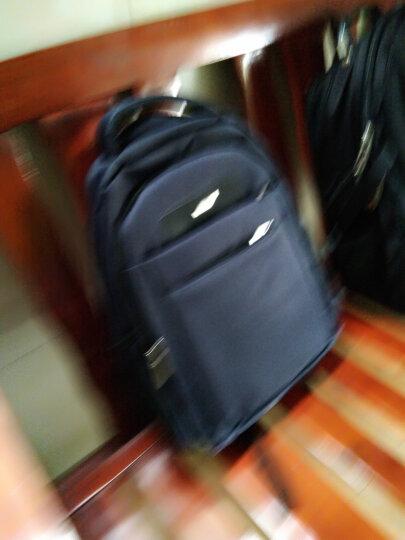 老人头(LAORENTOU)双肩包14英寸笔记本男女学生书包休闲运动大容量旅行背包 840J001L1G 蓝色小号 晒单图