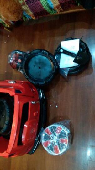 好加儿童电动车四轮汽车可坐童车宝宝玩具车LD-138越野车双座 烤漆磨砂黑 2.4G至尊版 晒单图