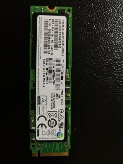 三星(SAMSUNG) NVME M.2 PCIE SSD固态硬盘 笔记本固态 sm961 128G ssd 晒单图