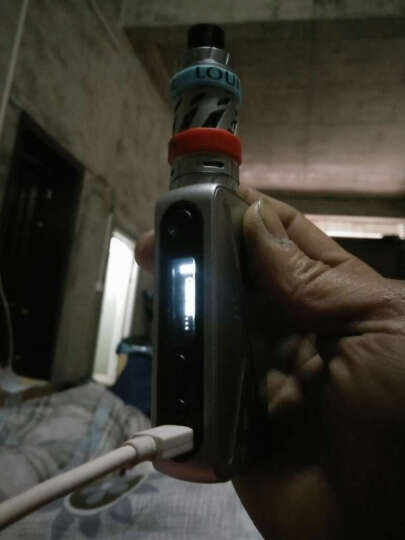 路易伯爵(Earl Louis)电子烟套装大烟雾大功率80W温控蒸汽烟戒烟器 太空银 晒单图