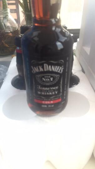 洋酒JACK DANIELS COLA 杰克丹尼威士忌预调酒配制酒鸡尾酒330ml 苹果味6支装 晒单图