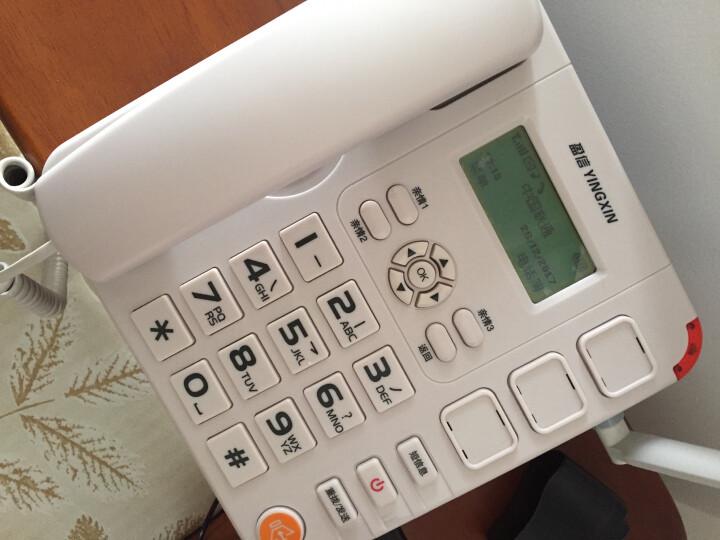 盈信6型 插卡电话机 老人无线插卡专用座机 移动联通手机SIM卡 白色 晒单图