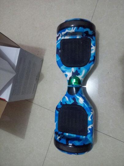 阿尔郎(AERLANG) 成人智能双轮电动平衡车代步体感车蓝牙平衡车儿童扭扭车两轮思维车 X6B迷彩蓝(带跑马灯+蓝牙音乐) 晒单图