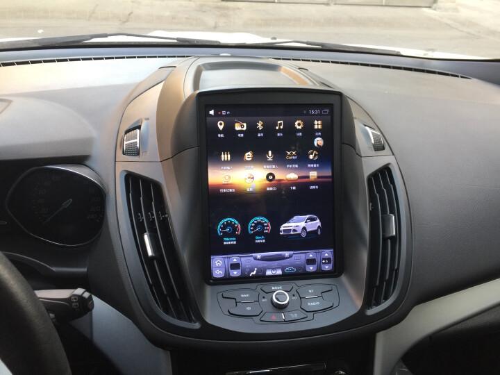 途新车机福特经典福克斯新福睿斯蒙迪欧翼博翼虎蒙迪欧致胜汽车中控大屏车载倒车影像导航仪一体机 L3-4G版(2+32G)+后视+包安装 晒单图