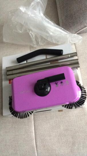 鑫宝鹭 手推式扫地机 手推家用笤帚扫地神器懒人扫把扫帚簸箕套装组合 新款紫色 晒单图