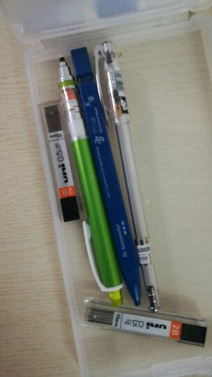 联新办公日本UNI三菱M5-450自动铅笔 笔芯自动旋转 0.5mm学生活动铅笔  10色彩色杆 草绿色 晒单图