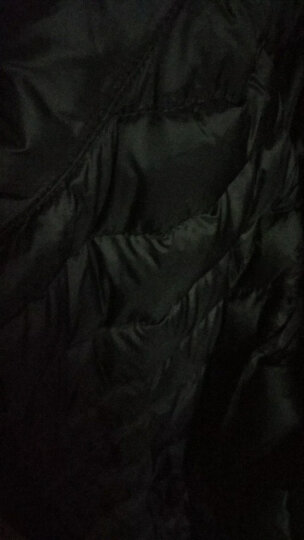 INTERIGHT 90白鸭绒轻薄便携女士羽绒服 浅灰S码 (松紧束口款) 晒单图