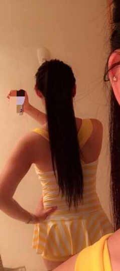 三奇 游泳衣女连体裙式性感钢托泳衣小胸聚拢大码温泉泳装 黄色 L 晒单图