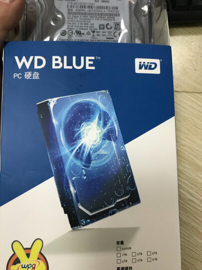 西部数据(WD)蓝盘 500G  SATA6Gb/s 7200转32M 台式机硬盘(WD5000AZLX) 晒单图