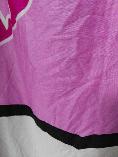 洛园家纺 ins(送抱枕)全棉hellokitty猫床笠床单式四件套 卡通纯棉凯蒂KT猫四件套 梦幻天使(送抱枕) 1.5-1.8米床四件套 晒单图