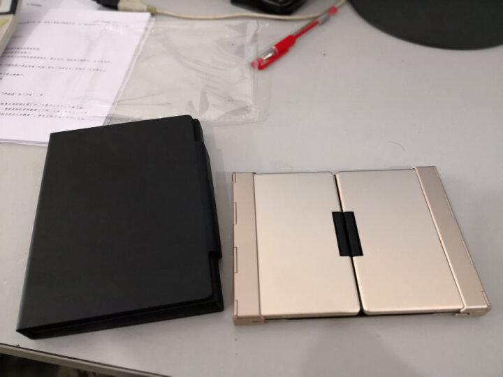 B.O.W 航世 HB099 折叠蓝牙无线键盘 笔记本有线家用办公游戏迷你小键盘背光 黑色带背光键盘 晒单图