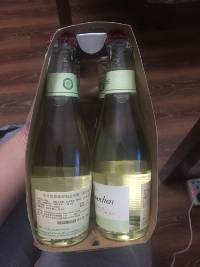 【全店清仓】Rotkappchen/小红帽起泡酒 德国原装进口甜型起泡气泡葡萄酒 青柠味200ml*4 晒单图