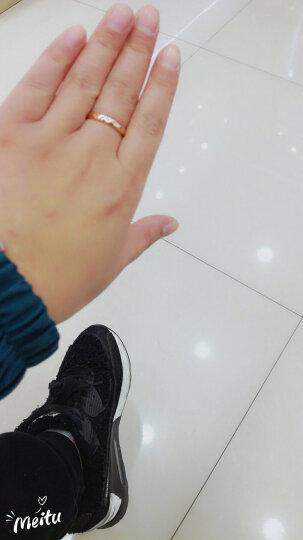 Leysen莱绅通灵珠宝 钻戒女结婚戒指订婚钻石戒指女婚戒珠宝情侣对戒 王室之吻WE-爱的加冕 18k玫瑰金 15号 晒单图