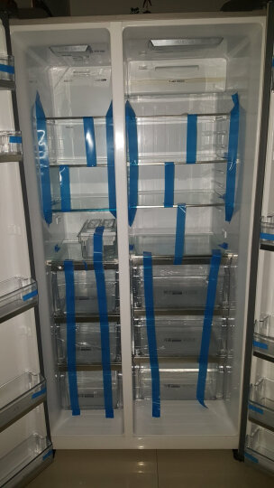 【99新】海尔 BCD-649WDVC 649升对开门冰箱变频 无霜杀菌 智控 晒单图
