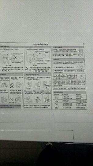 三星(SAMSUNG)9公斤全自动滚筒洗衣机 智能变频 快速洗 超大投衣口 钻石型内筒WW90J5430GW(白) 晒单图