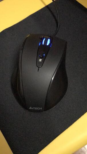 双飞燕(A4TECH) 有线USB鼠标 台式机笔记本一体机家用办公游戏U口方口扁口通用鼠标 OP-550NU黑色(经典升级版) 晒单图