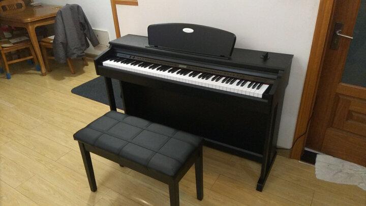 美德威 电钢琴88键重锤智能数码电子钢琴成人初学者考级家用教学电子琴 S70蓝牙跟弹版 白色爆款 送货到家  质保两年 晒单图
