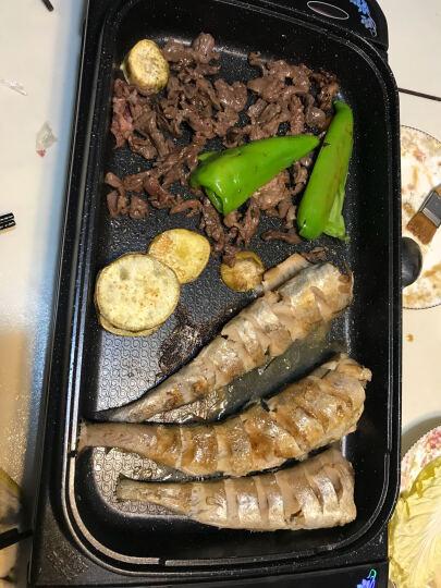 福库(CUCKOO)韩国多功能电烤盘 CCG-101M (黑色)无烟不粘多用烤肉锅 晒单图