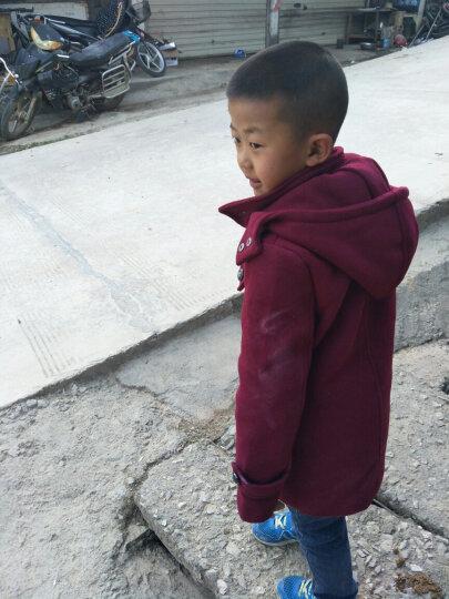 女童羽绒服中长款新品童装2018冬装新款外套韩版小中大童女孩3-16岁 X33军绿色 120码(建议身高110cm) 晒单图