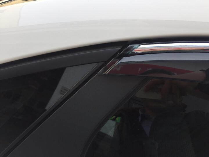 佳研华  晴雨挡 注塑带亮条遮雨遮阳挡 挡雨板 车窗雨眉 专用改装 专车专用 注塑带亮条款 一汽大众捷达 速腾 高尔夫6 高尔夫7宝来 迈腾 晒单图