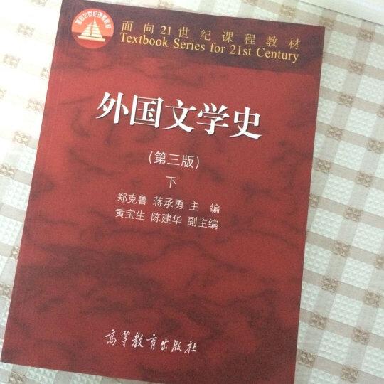 外国文学史 下(第三版)/面向21世纪课程教材 晒单图