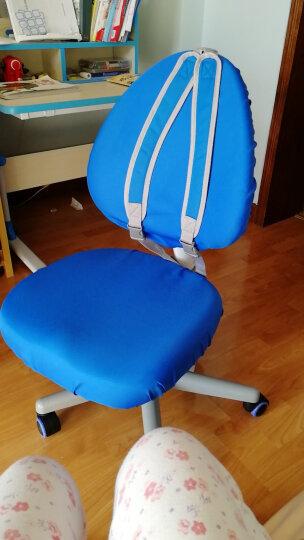 坐得正儿童学习椅 学生学习椅专用椅套 蓝色 晒单图