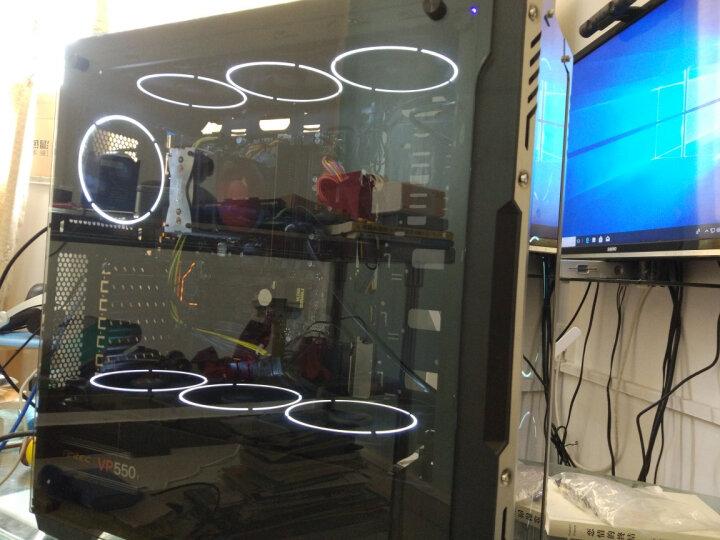 超频三(PCCOOLER)皓月 12CM白光 机箱风扇 (水冷排散热/电脑台式机风扇/CPU风扇/减震静音/赠4颗螺丝) 晒单图