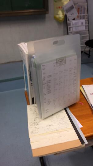 国誉(kokuyo)竖款多层手提式风琴包多层文件袋收纳试卷DFC65 黄色 A4 晒单图