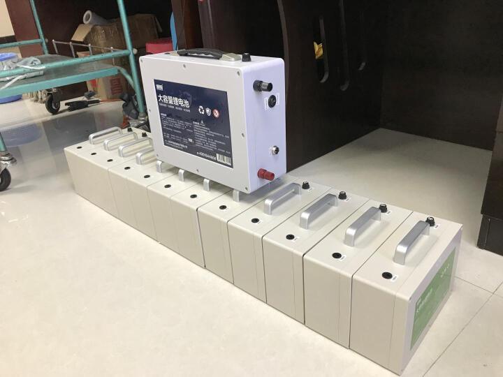 140AH超大容量锂电池100AH 80AH 超长续航12v户外氙气灯专用充电锂电瓶送防水背包 40AH 晒单图