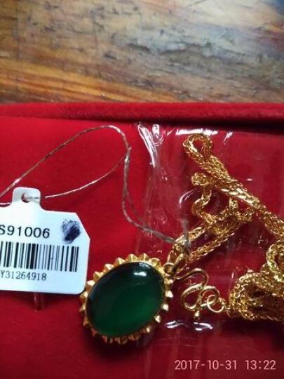 六福典雅珠宝 黄金项链 足金项链 结婚女士项链肖邦链  晒单图