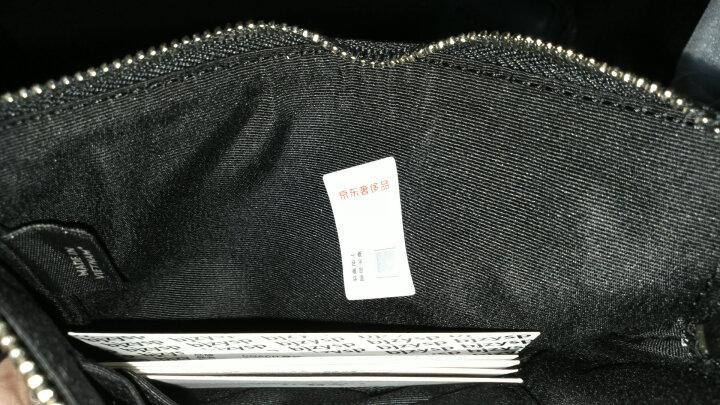 COACH 蔻驰 奢侈品 女士银色皮质拉链式手拿包 F54626 SVGM 晒单图