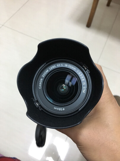 佳能(Canon) 佳能原装镜头遮光罩 EW-60C 适用于 EF 28-90mm f/4-5.6 晒单图