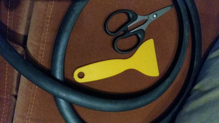 搏越  专用于吉利帝豪GS中控台仪表台密封条 前挡风玻璃胶条隔音 【黑色1.35米/1条(送剪刀1把+小刮板)】 晒单图