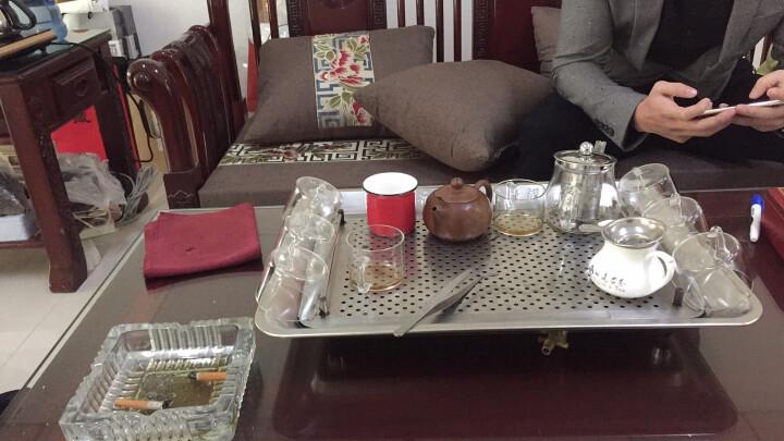 千功坊红木沙发坐垫订做古典家具坐垫定制沙发垫中式布艺沙发坐垫实木沙发垫定做罗汉床垫定制 咖啡牡丹 三人位定做 晒单图