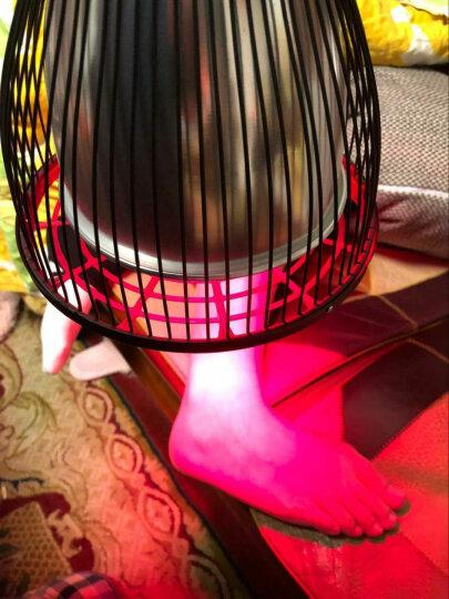 仙鹤牌神灯TDP治疗仪远红外线理疗灯家用烤灯烤电理疗仪颈椎腰痛腿部膝盖风湿关节炎老年人医用电磁波 CQ-30 100W台式红外线理疗灯 晒单图