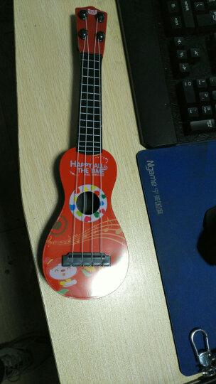 贝芬乐(buddyfun)儿童吉他 尤克里里乌克丽丽弦外之音 早教益智玩具启蒙乐器礼物 带拨片88042木纹(中号) 晒单图