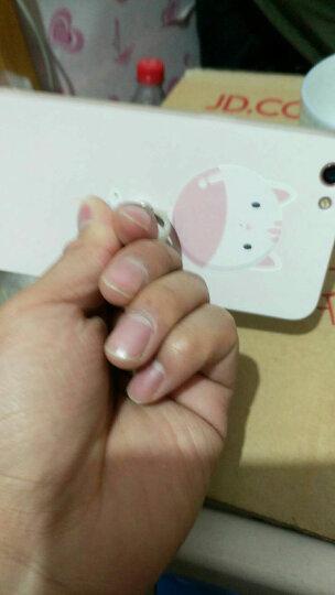 景为(Gview) oppor9splus手机壳男女防摔指环挂绳硅胶适用于oppo r9s plus-气球捆小鱼+白挂绳 晒单图