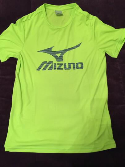 Mizuno美津浓男款乒乓球T恤短袖短裤透气速干乒乓球衣服比赛运动服广告衫T恤 32CT7115-23 水蓝 XL 晒单图