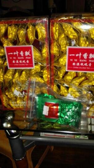 一叶香飘 福建安溪特产乌龙茶铁观音茶叶浓香型熟茶传统工艺米香味小袋装礼盒装500g炭焙茶烘培茶 晒单图