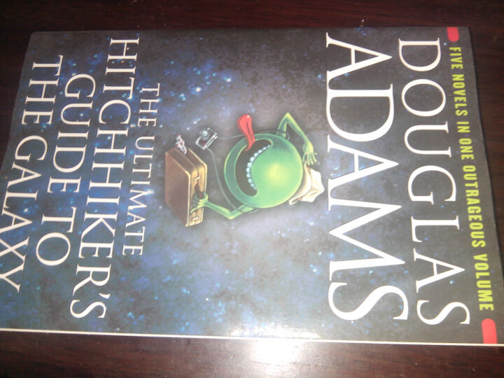 The Hitchhiker's Guide to the Galaxy银河系漫游指南 英文原版 晒单图