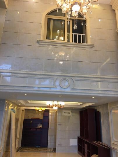 唐梦瓷砖 地砖欧式电视背景墙客厅地板砖800x800仿大理石背景墙文化石现代简约电视墙 白云玉月 高温微晶/0.1平方米 晒单图