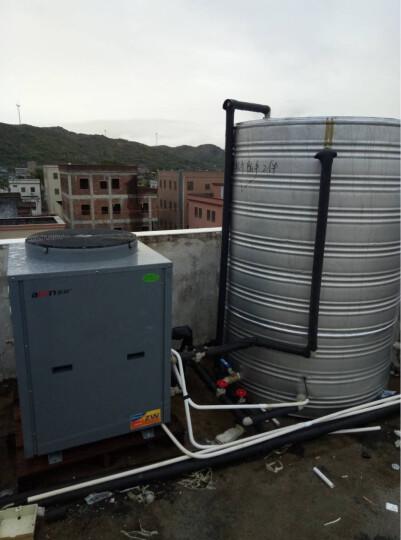 亚邦(abon) 亚邦(abon)5匹供暖地暖空气源热泵商用空气能热水器YKS-05H/D 科技灰色 5P地暖机 380V 晒单图