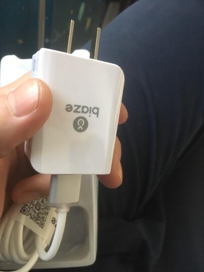 毕亚兹(BIAZE) 苹果数据线 银色 1米+5V/2A手机/平板充电器 iPhone5/6s/7/8 Plus/X/新iPad Air 套装M2+K3 晒单图