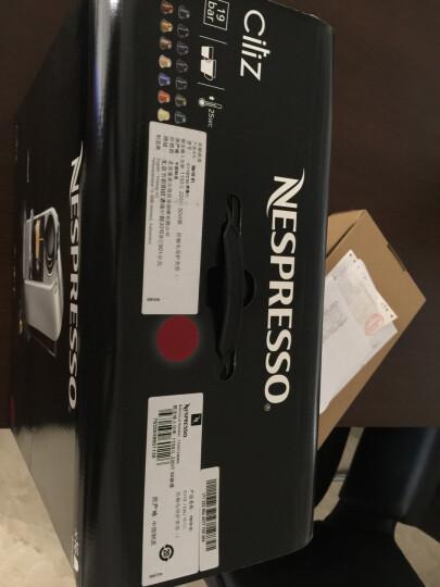 雀巢奈斯派索(Nespresso)C112 胶囊咖啡机 家用全自动咖啡机 适用咖啡胶囊 晒单图