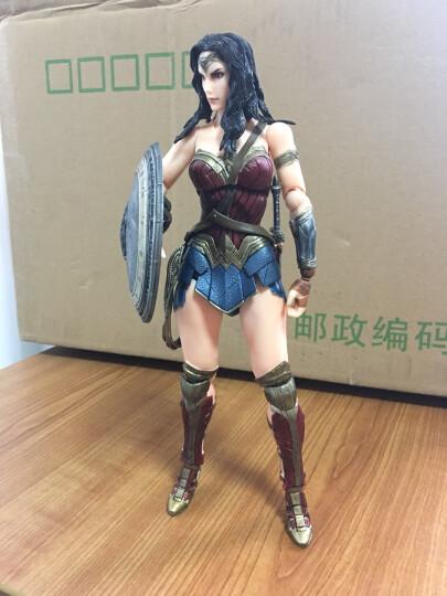 SQUARE/史克威尔 正版PA改 正义联盟 蝙蝠侠超人神奇女侠摆件 模型玩具 创意礼品 双面人蝙蝠侠 晒单图