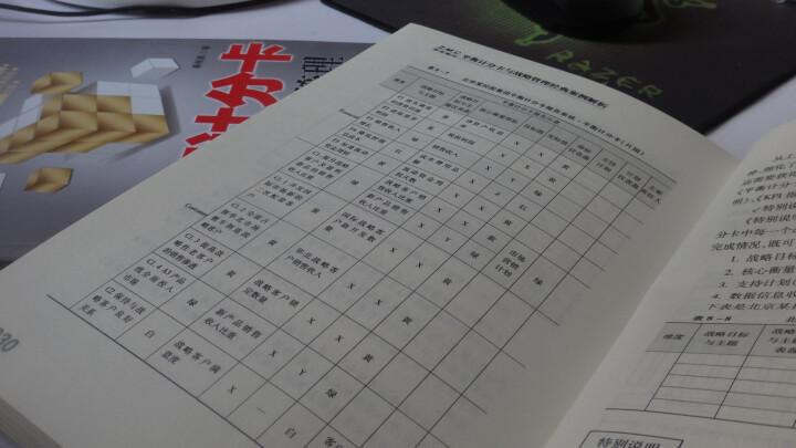 平衡计分卡与战略管理经典案例解析 晒单图
