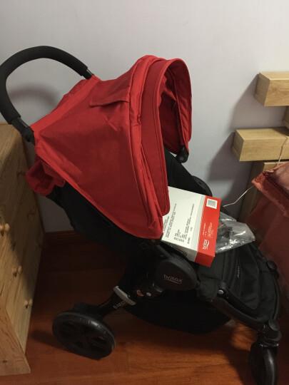 宝得适(BRITAX) 婴儿推车轻便 可折叠 可坐可躺 欢行B-nest 热情红 晒单图