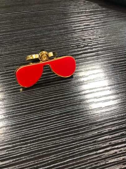 RayBan 雷朋太阳眼镜男女款方形舒适简约潮流渐变色0RB4187F可定制 631611红色框灰色渐变镜片 尺寸54 晒单图