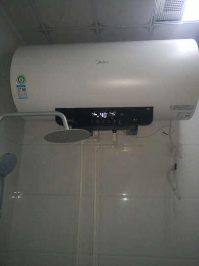 美的(Midea)90S速热5倍增容 一级节能 遥控预约 LED触控大屏 防电墙电热水器60升 F6030-A6(HEY) 晒单图