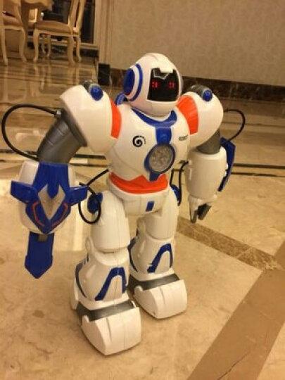 美致模型 遥控智能机器人玩具 儿童早教益智陪伴互动可编程电动机械人 手势感应语音机器人 晒单图